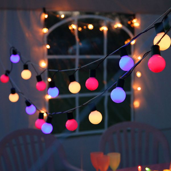 Outdoor Party Lights Light Chain Hooky